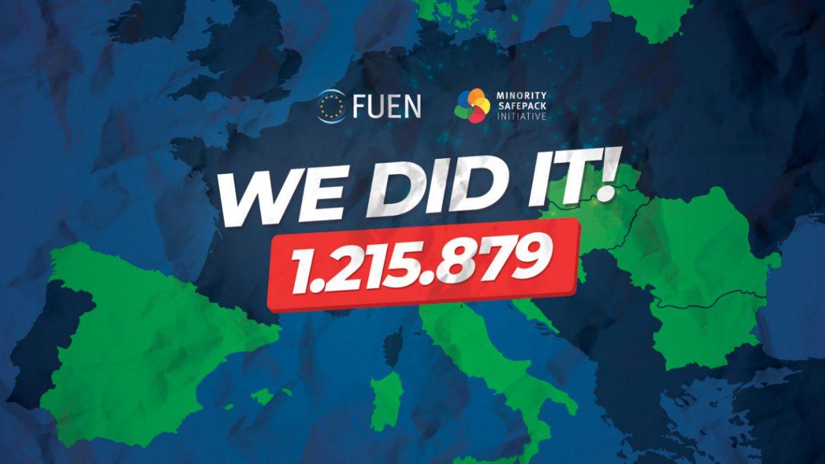 Egy év szolidarítás az európai kissebségi közösségekért