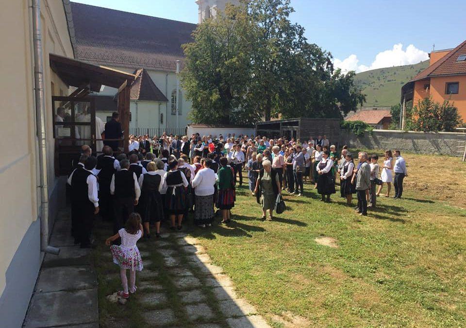 Csíkszentdomokoson felavatták a megújult Márton Áron-múzeumot