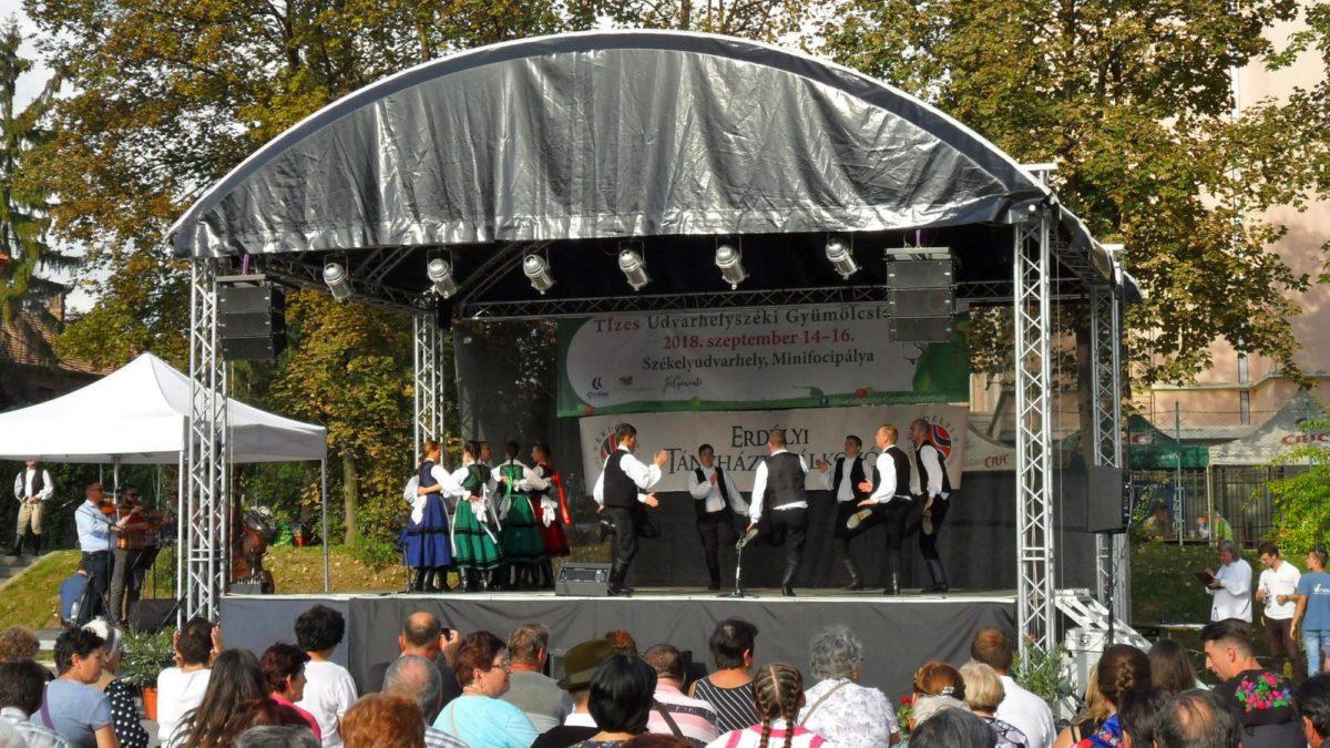 Az erdélyi táncháztalálkozó negyvenedik évfordulóján