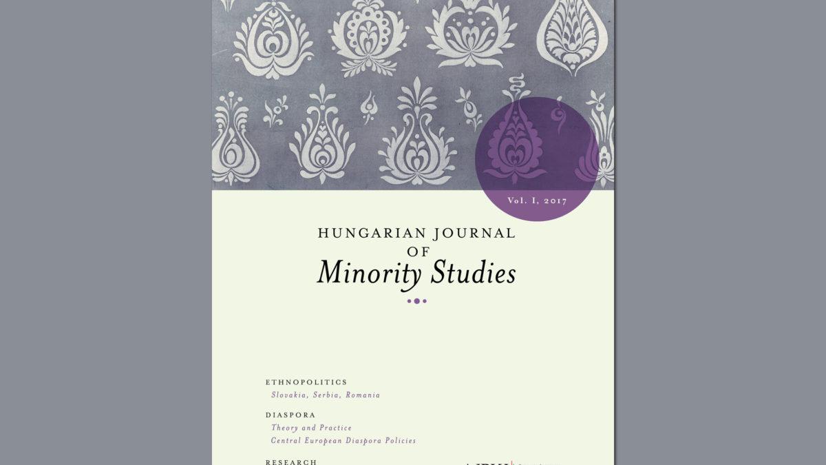 Hungarian Journal of Minority Studies