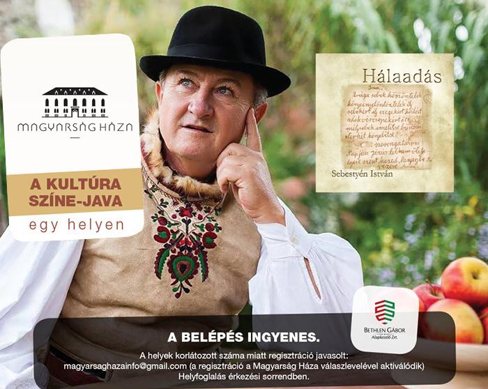 Hálaadás – Sebestyén István lemezbemutató koncert
