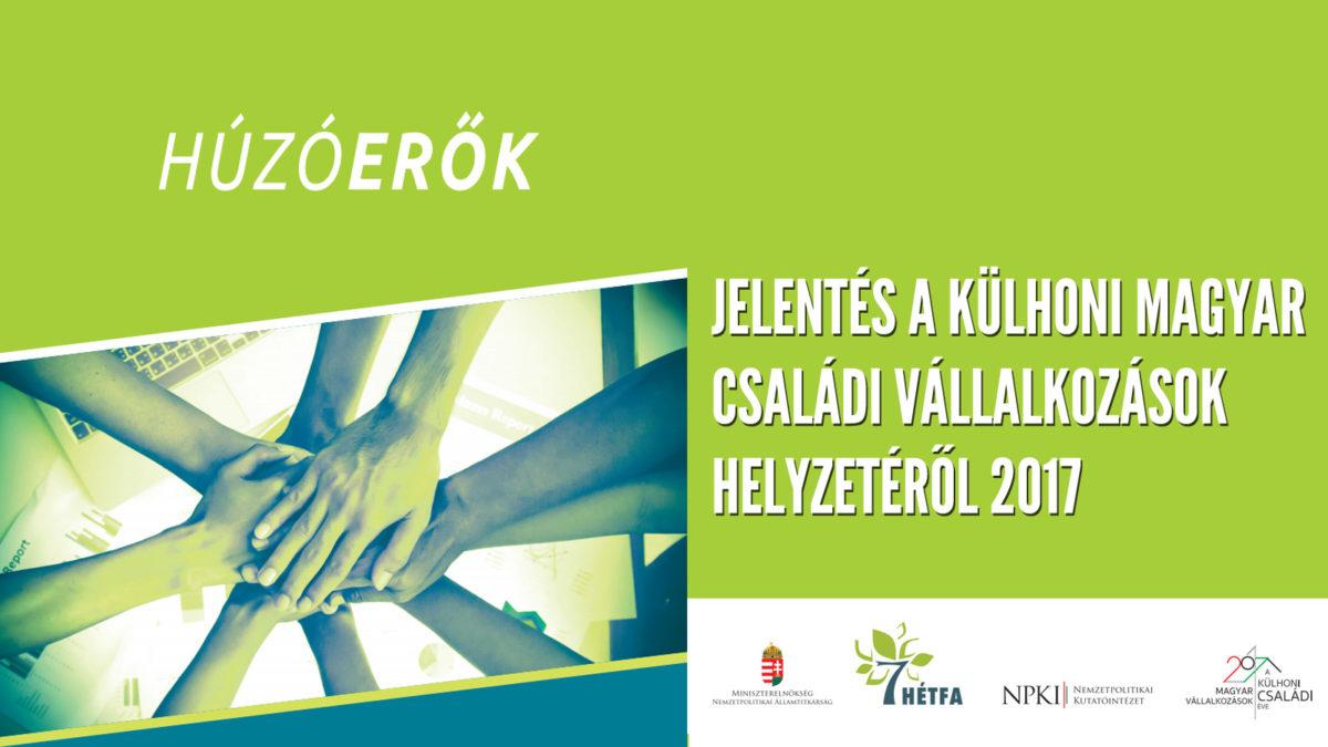 Külhoni magyar családi vállalkozások éve – 2017