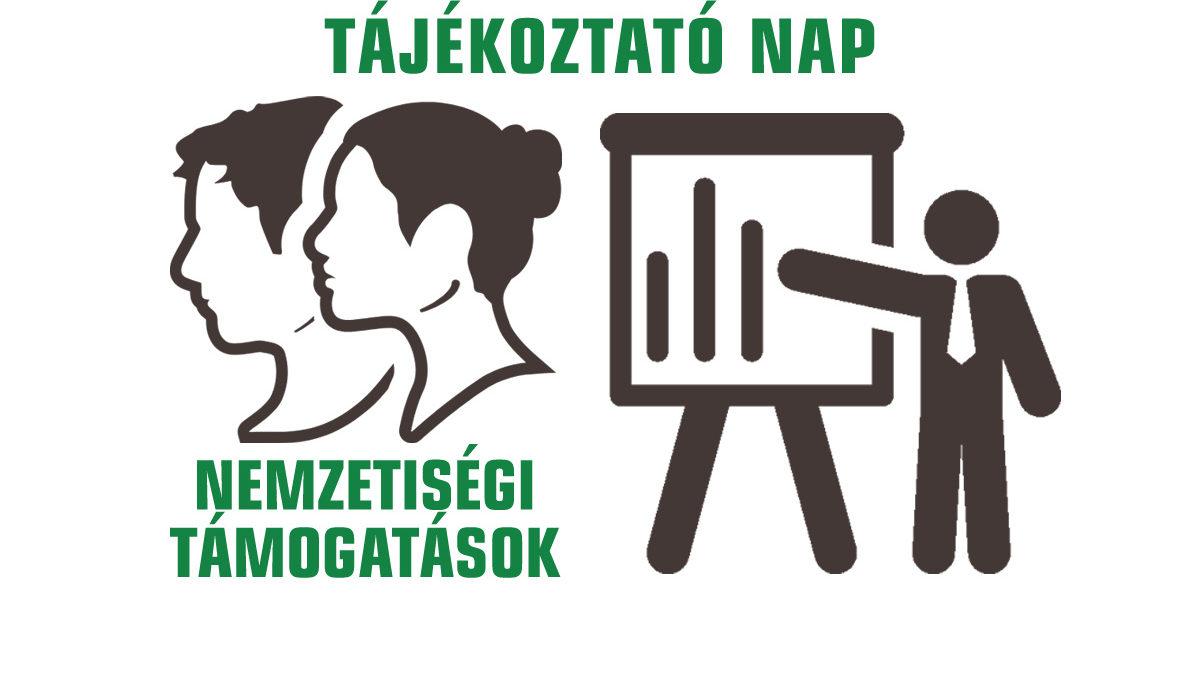 Tájékoztató nap a nemzetiségi támogatásokról