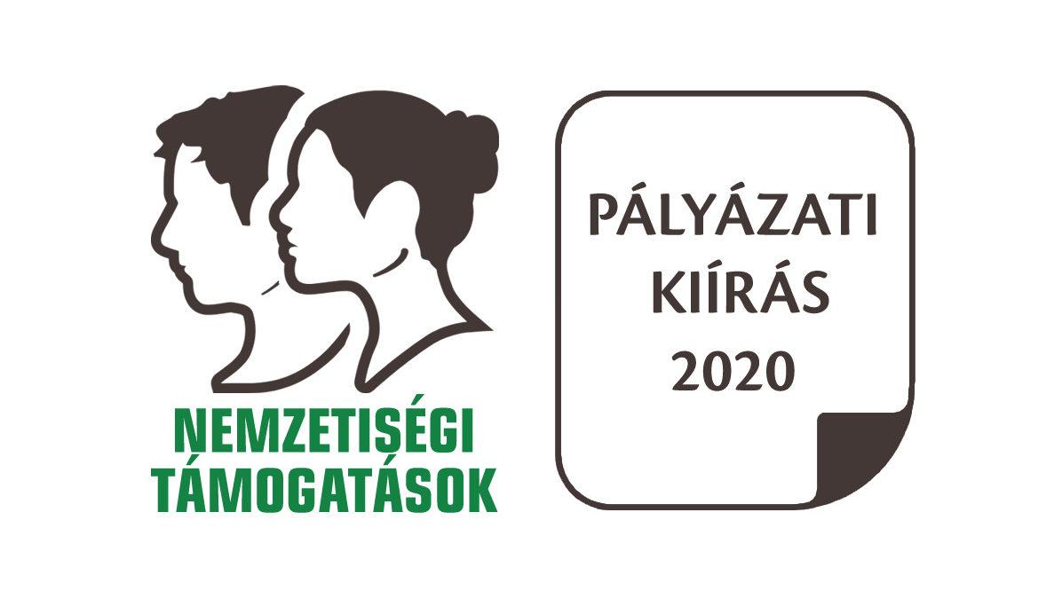 Hazai nemzetiségi támogatások 2020