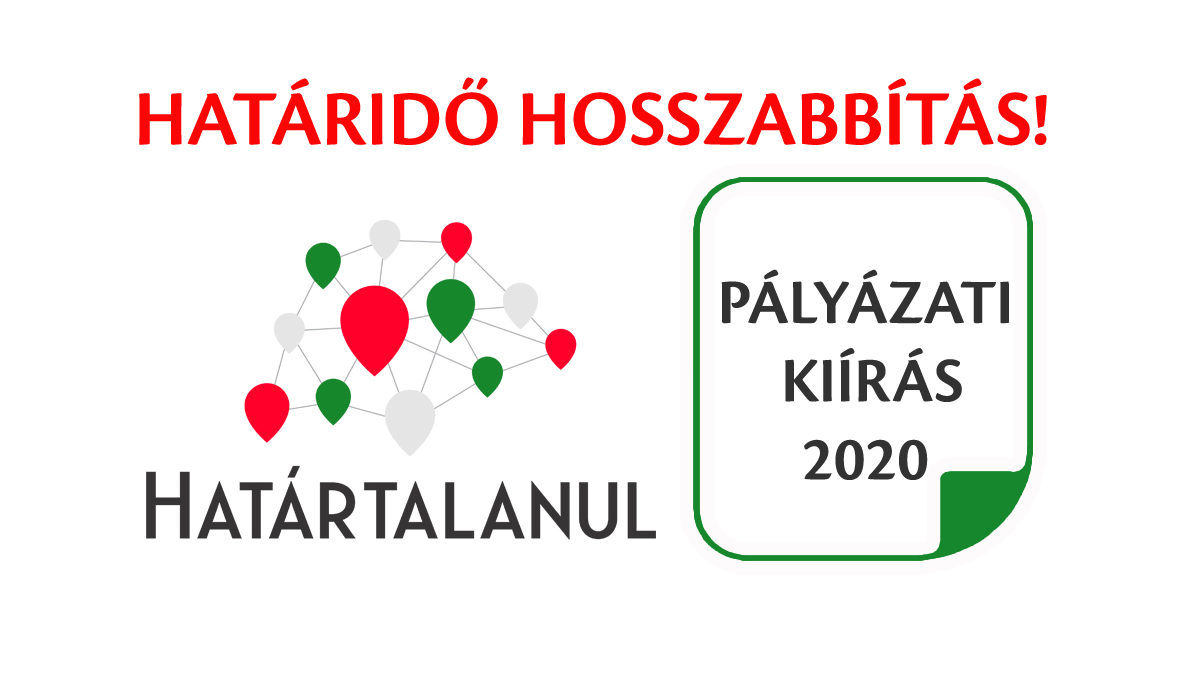 Határtalanul 2020 – határidők hosszabbítása!