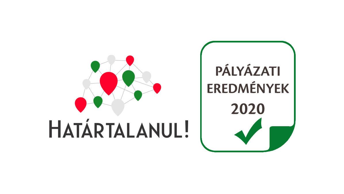 Határtalanul! program 2020 pályázati eredmények