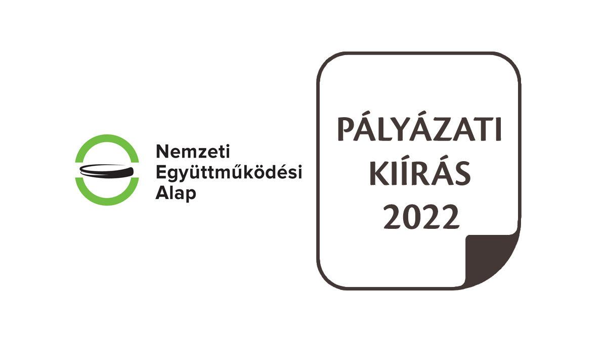 Új felhívások a Nemzeti Együttműködési Alap keretében