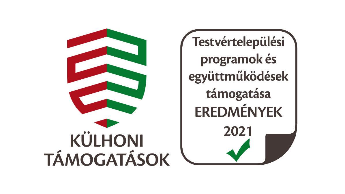 Testvértelepülési programok és együttműködések támogatása 2021 eredmények